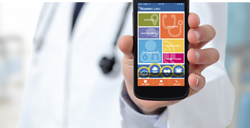 Harbin Clinic App:  Unique Purpose for Patient Convenience